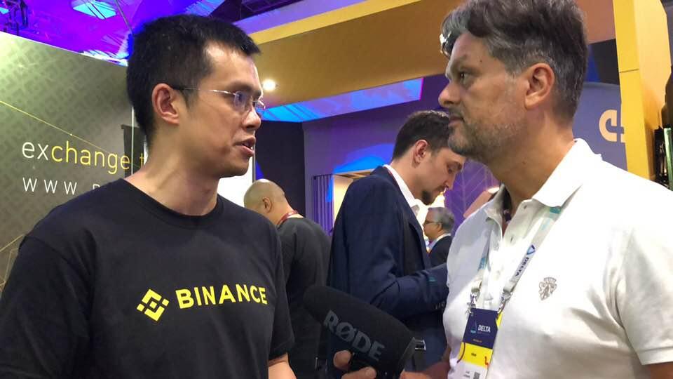 Delta Summit blockchain CZ intervista
