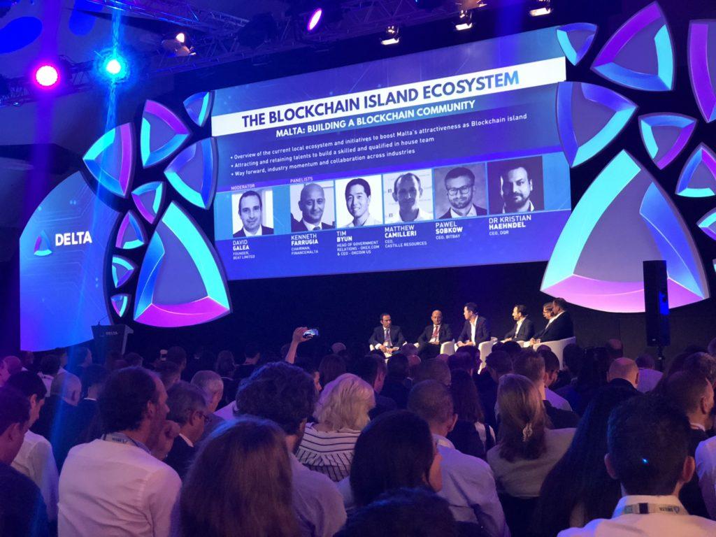Delta Summit blockchain