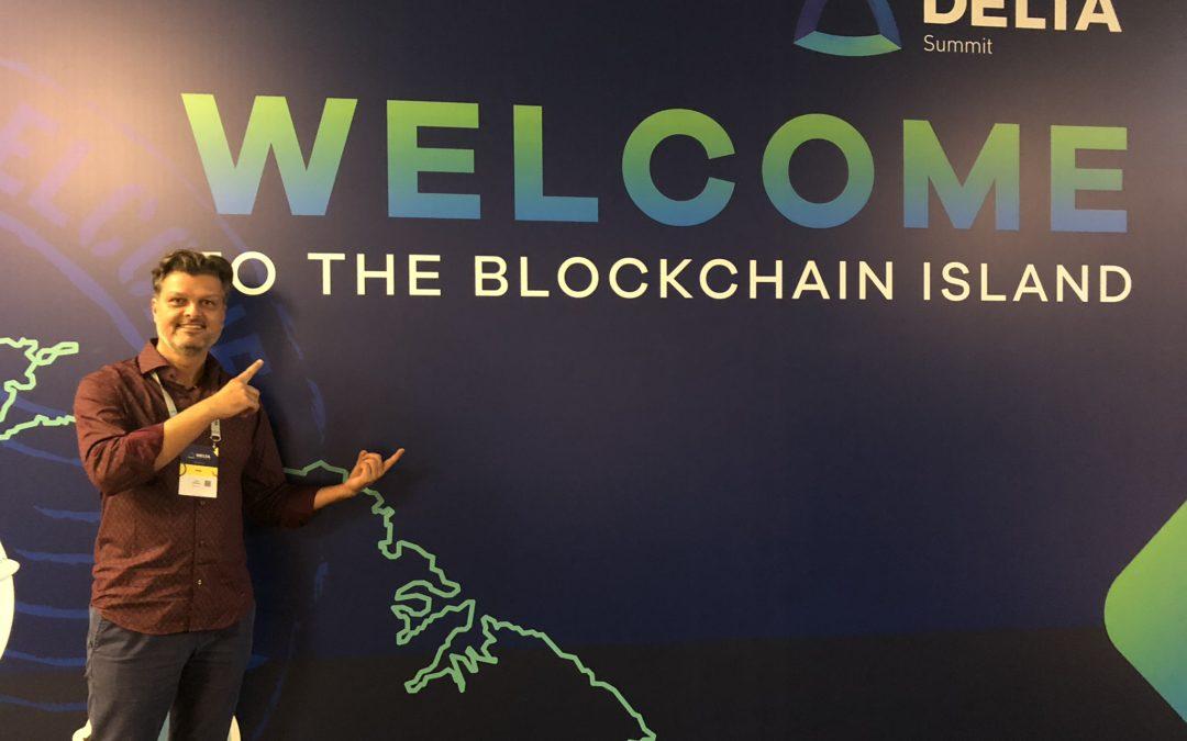 Delta Summit, Welcome to the Blockchain Island