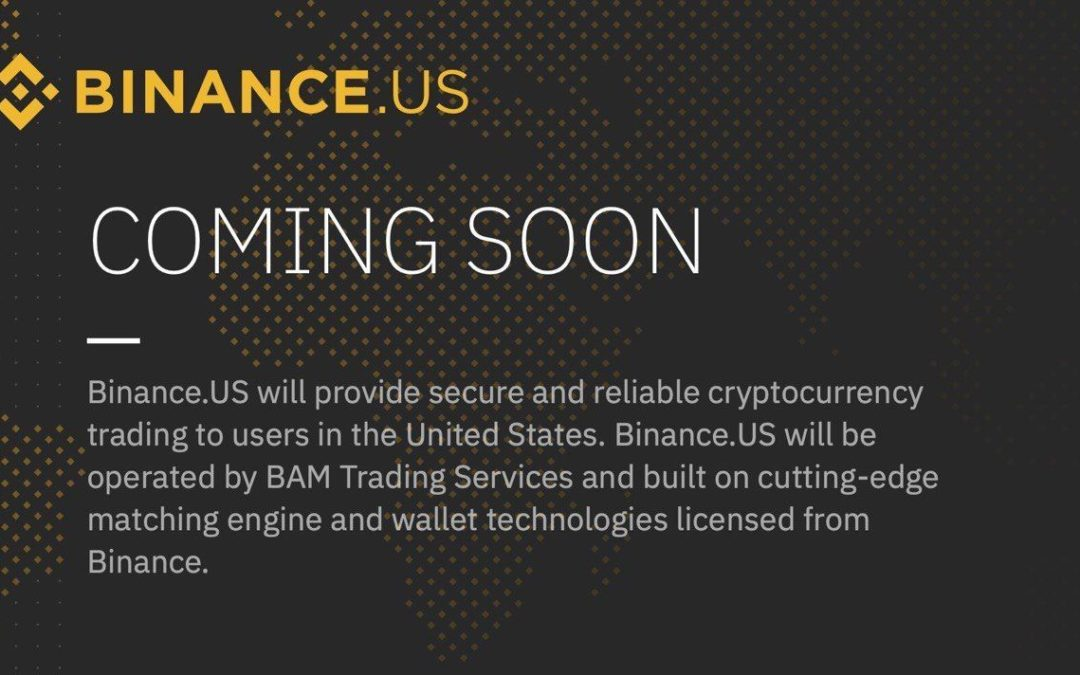 Binance sbarca in America!