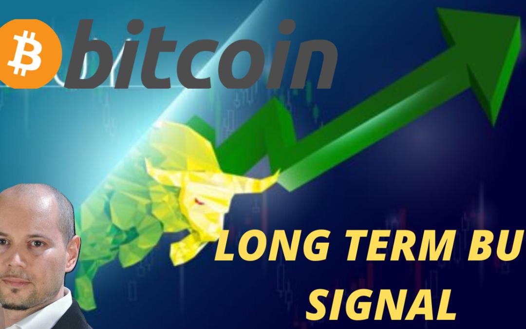 Bitcoin ecco il segnale d'acquisto di lungo termine